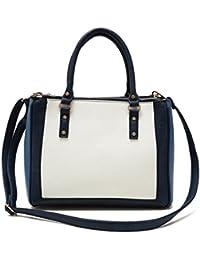 Augur Casual Laptop Backpack Classic Bookbag Water Resistant Rucksack For Travel (Large, Blue)