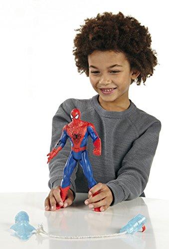 Marvel Spiderman - Figura electrónica de Spiderman (Hasbro A5714E24) 3