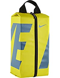 Nike Nk Alpha Shoe Bolsa de Deporte, Hombre, Amarillo (Electrolime / Electrolime / Smokey Blue), Talla Única