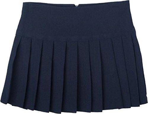 School Uniform ragazza/donna da lavoro/Formal Wear-Gonna a pieghe, Britney Blu blu navy