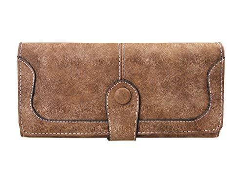 4dc635bc FakeFace - Cartera para mujer , marrón (marrón) - WLT-PRS-000078