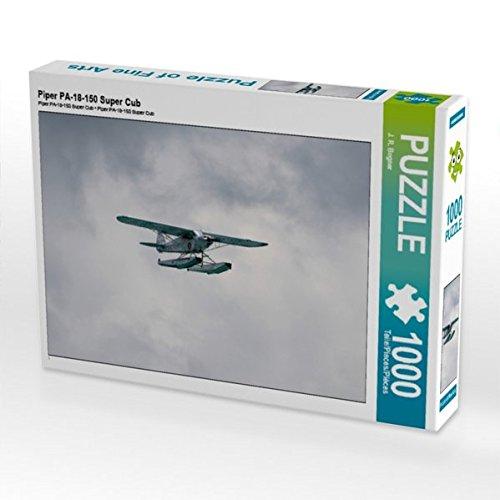 Piper PA-18-150 Super Cub 1000 Teile Puzzle quer (CALVENDO Mobilitaet)