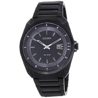 Citizen Eco-Drive Analog Black Dial Men's Watch – AW1015-53E