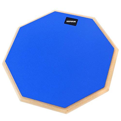 keepdrum DP-BL12 Drum Practice Pad Blau Übungspad 12 Zoll