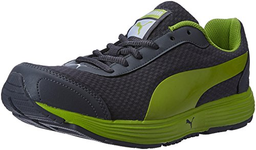 Puma Men's Reef Fashion Dp Asphalt, Lime Punch and Puma Black Running Shoes - 8 UK/India (42 EU)  available at amazon for Rs.2097