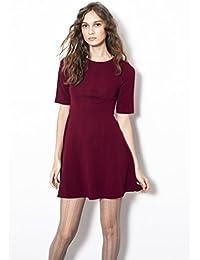 Compañía Fantástica - Vestido Wall / Wall Dress, Color Burdeos, ...