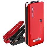 Telwin 829565 - Arrancador multifuncion de litio y Power bank, color rojo