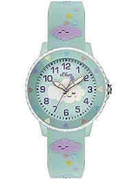 s.Oliver Unisex Kinder-Armbanduhr SO-3563-PQ