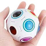 Regenbogen-magischer Ball-Plastikwürfel-Torsion für pädagogisches Spielzeug-Jugendliche-erwachsenes Stress-Helfer der Kinder