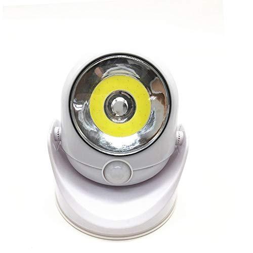 Dicomi 360 Grad LED Sensorlicht Drehbare Lampe LED Leuchte Partei Abend Innen und außen Haus & Garten -