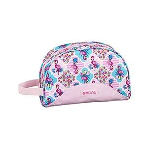 Moos Flamingo Pink Oficial Mochila Escolar Infantil Pequeño Con Asa 280x100x180mm
