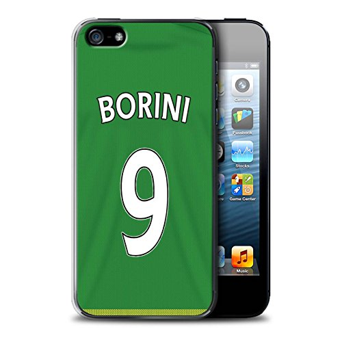 Offiziell Sunderland AFC Hülle / Case für Apple iPhone SE / Pack 24pcs Muster / SAFC Trikot Away 15/16 Kollektion Borini