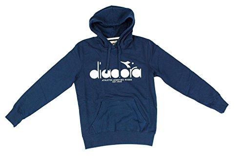 Diadora Hooded Sweat BL Deep Blue
