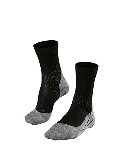 FALKE Herren Laufsocke RU Stabilizing, Black-Grey, 42-43