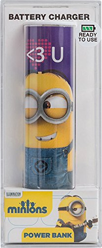Tribe Minions Heart USB Portable Universal Power Bank External Battery Charger for Smartphone Universal Power Bank
