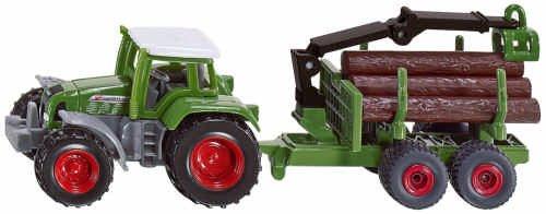 SIKU 1645 - Tracteur avec forlader