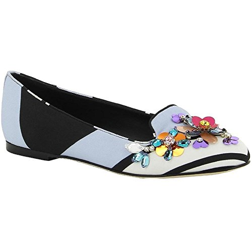 Ballerines Dolce&Gabbana femme en tissu multicolore - Code modèle: CP0019 AR412 87796 Multicolore
