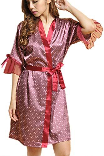 Accappatoio Elegante Kimono da Donna Robes Lace Dolka usato  Spedito ovunque in Italia