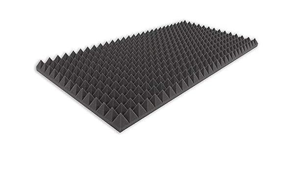 Pyramidenschaumstoff TYP 100x50x5 Akustikschaumstoff Schall dämmmatten Dämmung
