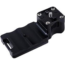 Zhiyou Pied de Collier de Lentille Monture de Trépied pour Canon EF 100-400 mm f / 4.5-5.6L is II USM, Mise à Niveau avec Plaque QR Intégrée Compatible Arca-Swiss/RRS