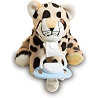 Charley the Cheetah Soft ★Dummy Holder★ by Uggogg & Inny. Strong Clip to change to Dummy of your choice. Cute, Lightweight & Cuddly Friend for your Baby, Toddler or Infant. Washable. Baby Shower Gift - ukpricecomparsion.eu