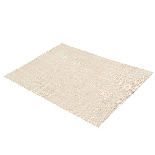 45*30 cm étanche en PVC Tapis de table de salle à manger Plaquettes de disque Bol Pad Dessous-de-verre Vaisselle