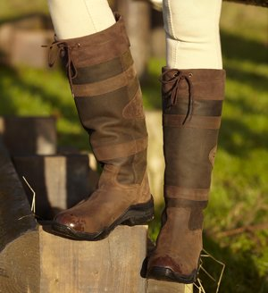 William Hunter Equestrian Toggi Canyon - Bottines Larges Marron - Chocolat