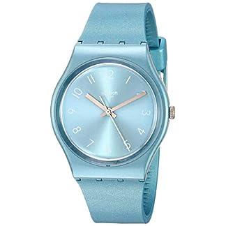 Swatch Reloj Analógico para Mujer de Cuarzo con Correa en Silicona GS160