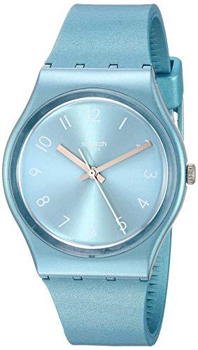 Swatch Orologio Analogueico Quarzo Donna con Cinturino in Silicone GS160