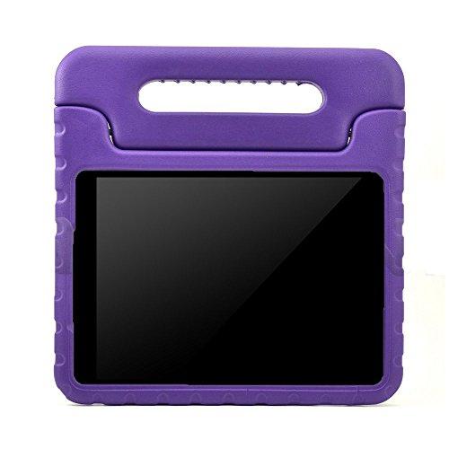 Preisvergleich Produktbild Kinder Hülle für Samsung Galaxy Tab A 7.0, CAM-ULATA EVA Stoßfest Leichtgewicht Kinderfreundlich Griff Schutzhülle Standhülle für Samsung Galaxy Tab A 7 Zoll Tablette 2016 Release, Violett