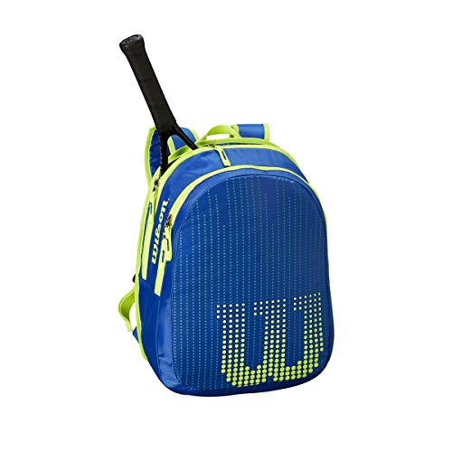 WILSON Kinder Tennisrucksack blau/gelb (956) 000