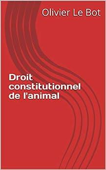 Droit constitutionnel de l'animal