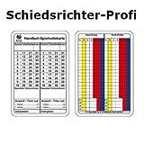 b+d Spielnotizkarte b+d Lot de 250 Cartes de Jeu pour Handball