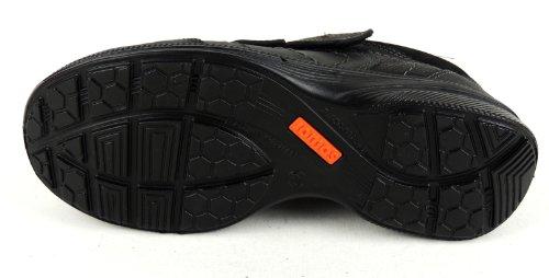 Jomos Herren Klettschuh Leder H-Weite schwarz schwarz, Leder, Weite H, Biolederfutter,