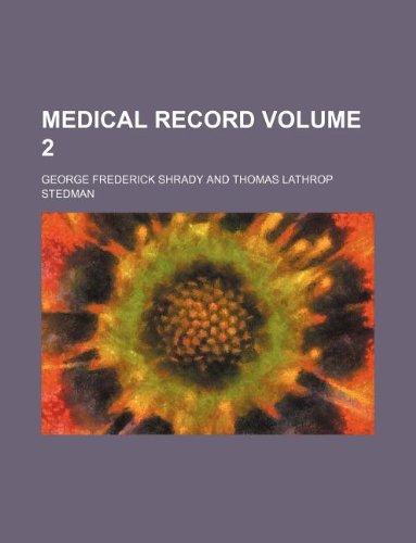 Medical record Volume 2