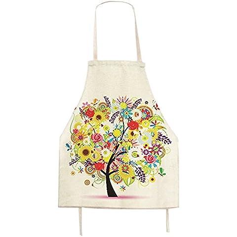 G2Plus Baking Motivo Cotone Grembiule grembiuli da cucina Chef Grembiulino regalo ideale per arti e casa lavoro, Cotone, Da