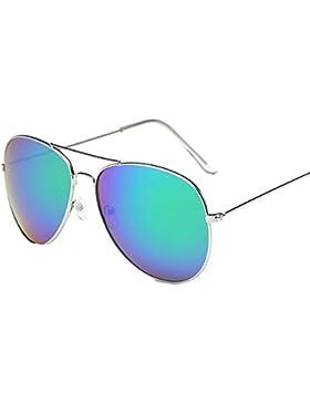 SKY Cool!!! Hombres Mujeres Cuadrados Vintage espejo gafas de sol gafas de deportes al aire libre gafas de sol...