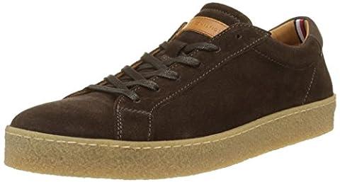 Tommy Hilfiger Herren L2285OGAN 1B Sneaker, Braun (Coffee Bean), 46