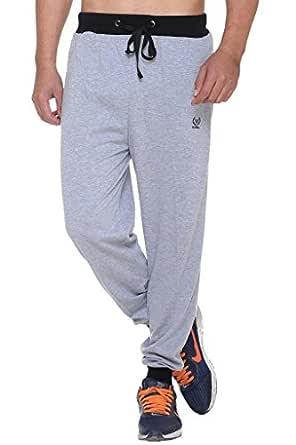 VIMAL Jonney Men's Cotton Trackpants (Grey, Small)