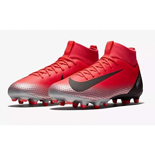 Nike Unisex-Kinder Sperfly 6 Academy Gs CR7 MG Fußballschuhe, Rot (BRT Crimson/Black/Chrome/Dk Grey 600), 38 EU (Fussball-kinder-schuhe Nike)