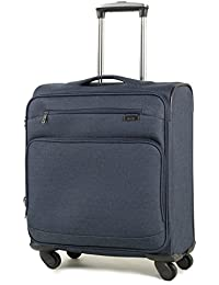 Rock Madison Lightweight British Airways Cabin Luggage Expandable Four Wheel Spinner Suitcases