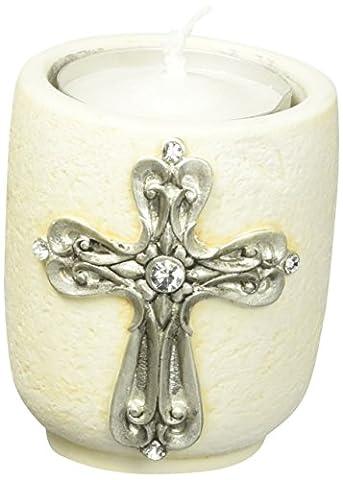 Croix Design Support pour bougie thé lumière