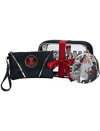 Black Widow Conjunto de Regalo Bolsa cosméticos Negro/Rojo/Blanco