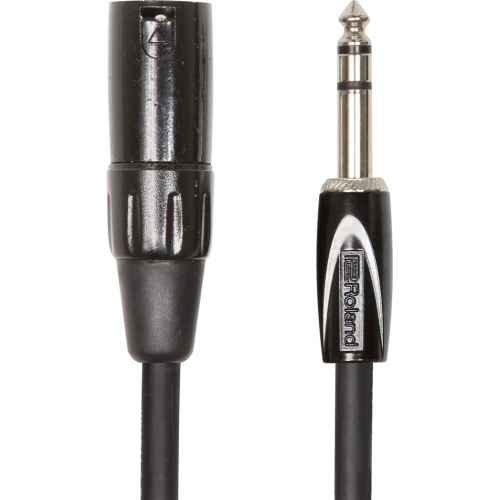 Roland RCC-15-TRXM 4.5m 6.35mm TRS XLR Negro cable de audio - cables de audio (6.35mm TRS, Macho, XLR, Macho, 4,5 m, Negro)