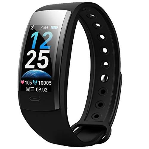 QS90PLUS Multifunktions-Farbbildschirm Fitness Timing Schritt Herzfrequenz Blutsauerstoff-Tracker Bewegungsdatenüberwachung IP67 Wasserdicht Smart Bracelet/Für Android iOS-Geräte und Software