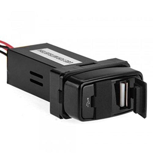 lovelifeast-coche-2-usb-socket-cargador-de-telefono-entrada-de-audio-para-mitsubishi-21-a-adaptador-
