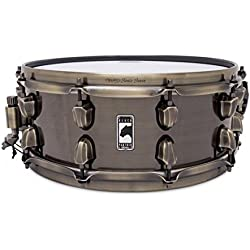 Mapex Black Panther Brass Cat 14x5.5in Brass Snare - BPBR4551ZN