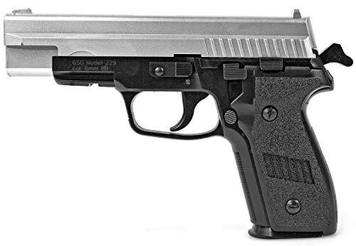 Nick and Ben Softair-Pistole Federdruck Spielzeug-Waffe Max. 0,5 Joule und 6 mm BB Airsoft Munition