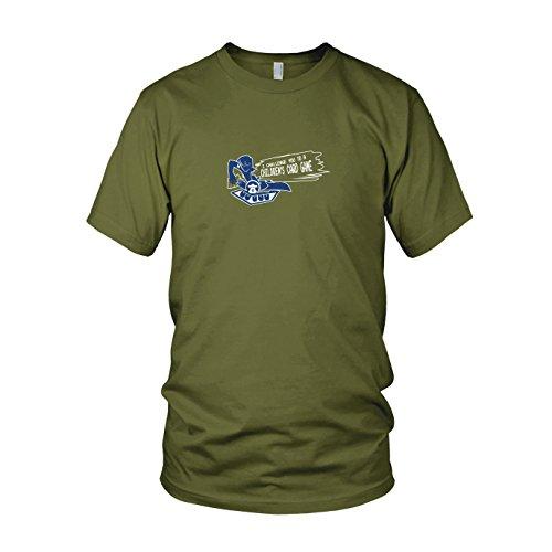 Muto Yugi Kostüm (Card Game Challenge - Herren T-Shirt, Größe: XL, Farbe:)