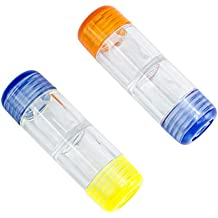 harte Kontaktlinsen FLAMEER 5pcs Kontaktlinsenbeh/älter f/ür formstabile